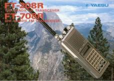 Yaesu FT-208 VHF Handheld