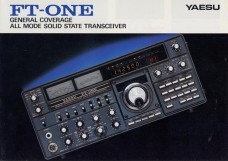 Yaesu FT-ONE all mode, all band H.F. Base Station with General Coverage Receive