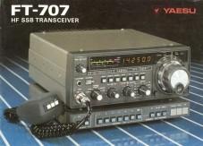 Yaesu FT-707 H.F. Mobile