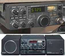 Kenwood TR-9130 and TR-9000 VHF Multimode VHF Mobiles